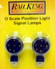 Position Light Signal lamps MTH O Gauge