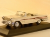 Pontiac Bonneville (1957)white. 1:43 scale